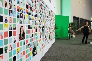 Photo Mosaic Wall Rental for events in Phoenix, Scottsdale, AZ